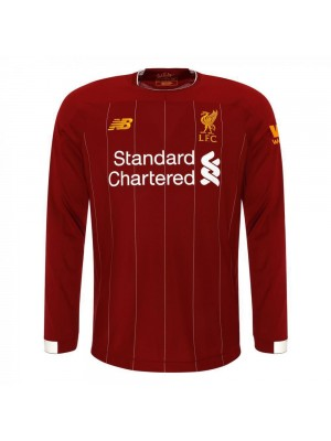 Liverpool Home Long Sleeves Soccer Jersey 20190-2020