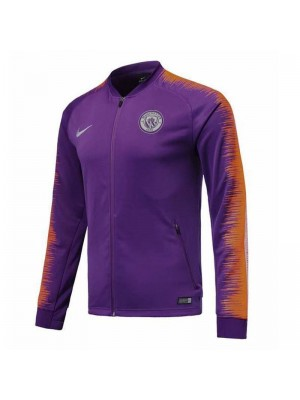 Machester City Purple Jacket 2018/2019