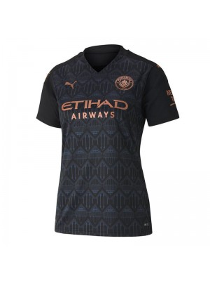 Manchester City Away Women Soccer Jerseys Female Football Shirts Uniforms 2020-2021