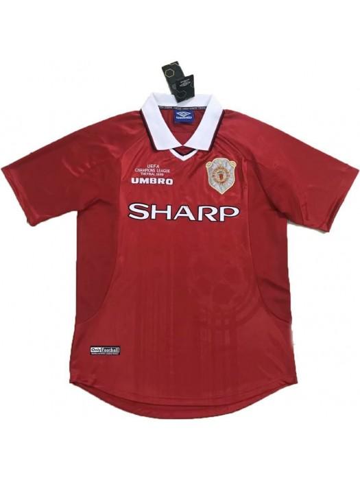 Manchester United Retro Jersey 1999-2000