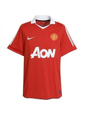 Manchester United Home Retro Soccer Jersey Maillot Match Mens Sportwear Football Shirt 2010-2011