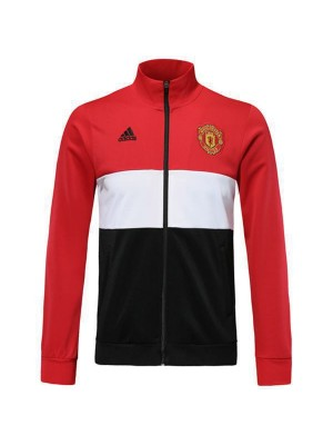 Giacca Manchester United Borland Full Zipper Mens Outdoor Red 2019-2020