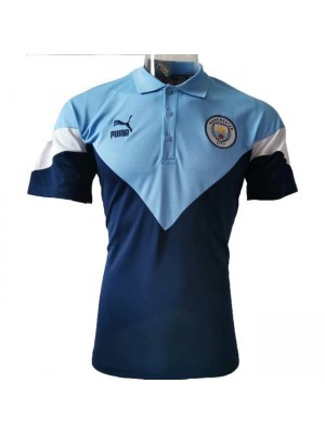 Manchester City BLue New Polo Shirt 2020