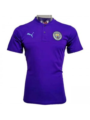 Manchester City BLue Purple New Polo Shirt 2020