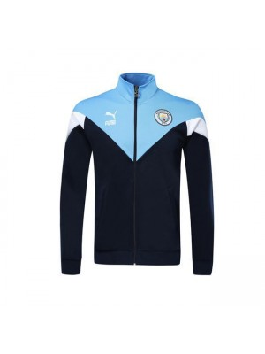 Giacca Manchester City Royal Blue Versione classica 2019-2020