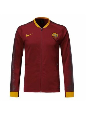 AS Roma Red Printed Sleeve Jacket 2018/2019