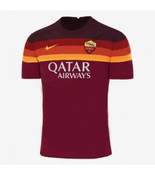 As Roma Home Soccer Jersey Mens Football Shirt 2020-2021