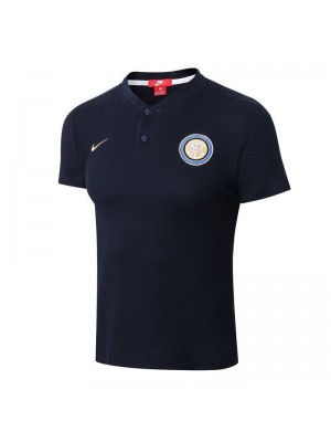 Inter Milan Royal Blue Polo Shirt 2018/2019