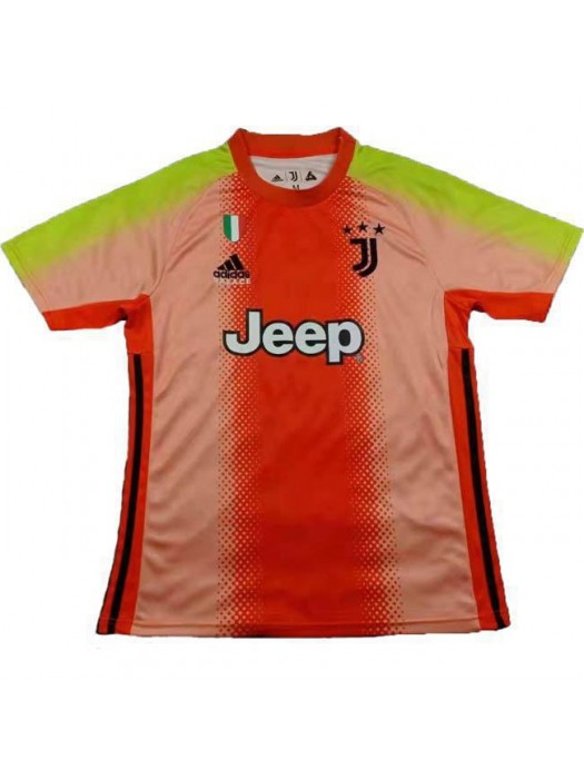 Juventus Ad Palace Special Edition Goalkeeper Soccer Jersey Orange Pink