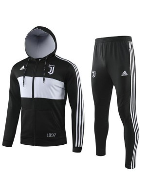 Juventus Black All Zip High neck Jacket Kit 2019-2020