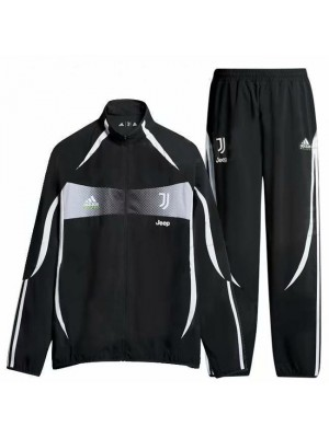 Juventus Black High Necked Special Version Jacket Kit 2019-2020