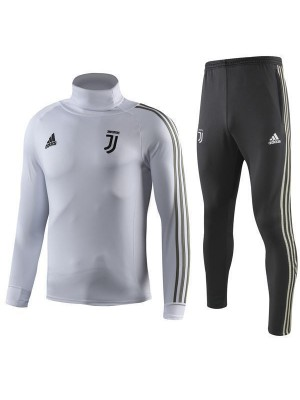 Juventus High-necked-Training Kit Bianco 2018-19