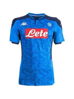 SSC Napoli Home Champions League Jersey Mens Soccer Shirt 2019-2020