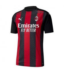 AC Milan Home Soccer Jersey Mens Football Shirt 2020-2021