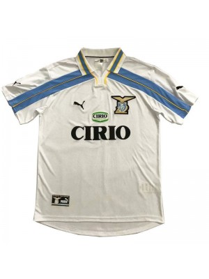 Lazio Retro Away Soccer Jerseys Mens Football Shirts Uniforms 2000-2001