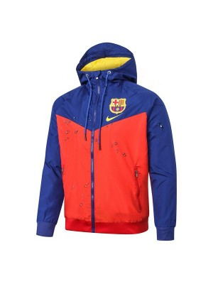 Barcelona Blue Red Soccer Windrunner 2020