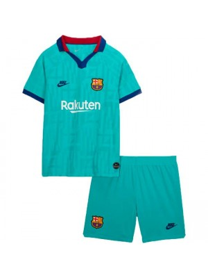 Barcelona Third Kids Kit Soccer Jersey 2019-2020