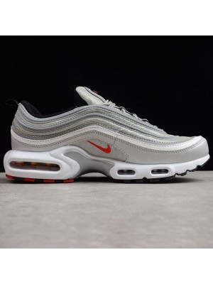 Bullet Air Max Plus 97 TN Silver Shoes