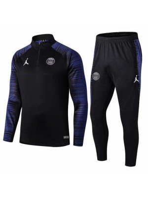 Jordan Paris Saint Germain Black Fans Version Tracksuit 2019-2020