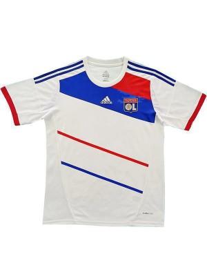 Retro Olympique Lyonnais Home Soccer Jerseys Mens Football Shirts Uniforms 2012-2013