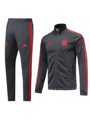 Bayern Munchen Gray High Necked Tracksuit 2018/2019