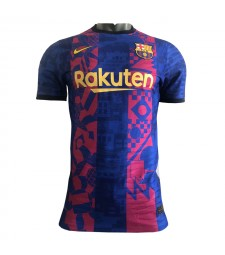 Barcelona  UCL Lega Champions Home Jersey 2021-2022