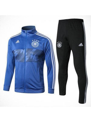 Germany Blue Soccer Tracksuit 2018/2019