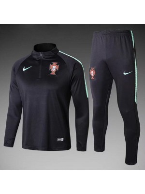 Portugal Kids Black Tracksuit 2018/2019