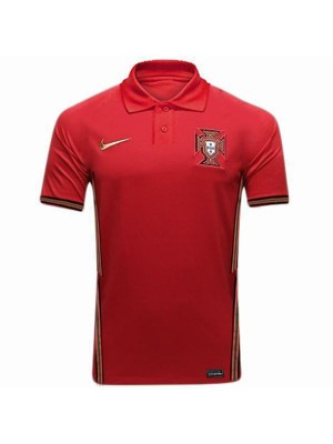 Portugal Home Soccer Jersey Euro 2020 Mens Football Shirt