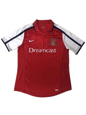 Arsenal Home Retro Football Mens Soccer Jersey 2000
