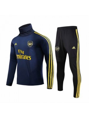 Arsenal Royal Blue High Necked Tracksuit 2019-2020
