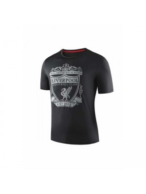 Liverpool Black Round-neck Shirt 2019