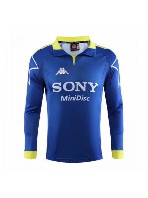 Juventus Third Long Sleeve Retro Mens Soccer Jersey Football Shirt 1997-1998